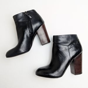 Tory Burch black ankle boots booties size 8.5
